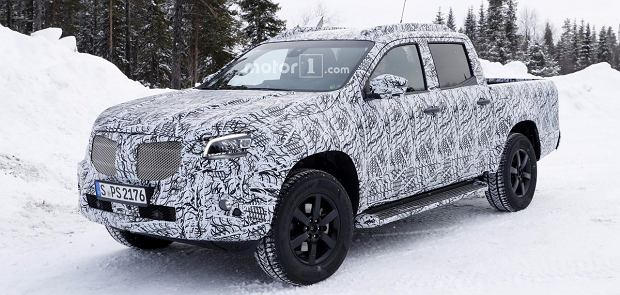 Najnowszy prototyp Mercedesa Klasy X