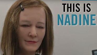 Robot Społeczny Nadine