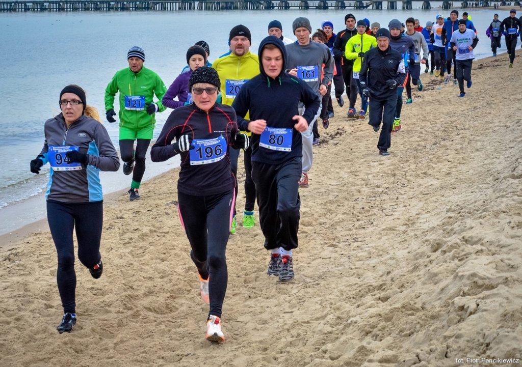 Zimowy Bieg po plaży Timex Cup 2015