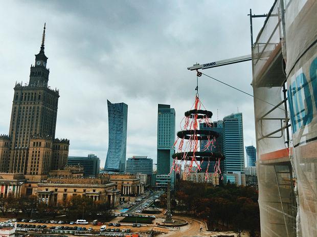 Wiecha na szczycie inwestycji Centrum Marszałkowska