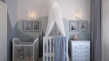 Częstym wyborem do pokoju dziecięcego jest kolor szary. Zdjęcie ilustracyjne, pixabay.com