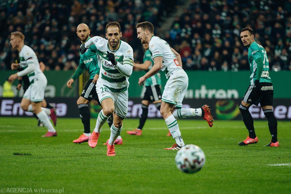 Lechia - Legia 0:2. Flavio Paixao
