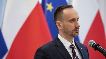 Wiceminister aktywów państwowych Janusz Kowalski.