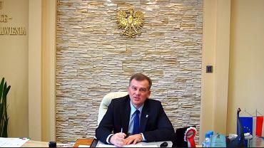 Burmistrz Michałowa Marek Nazarko