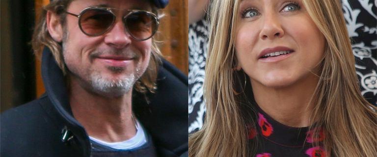 Jennifer Aniston mieszka z Bradem Pittem? Do sieci trafiło tajemnicze nagranie
