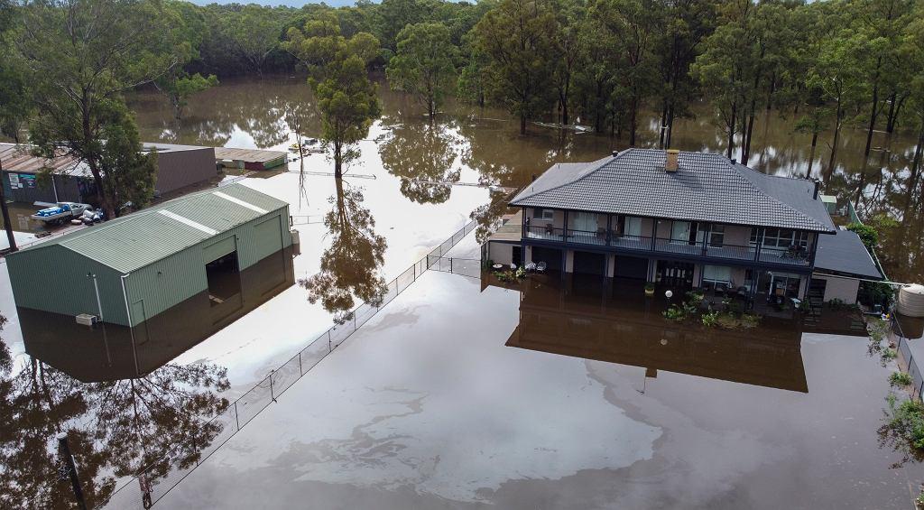 Powódź w Australii. 40 proc. mieszkańców objętych alertami pogodowymi