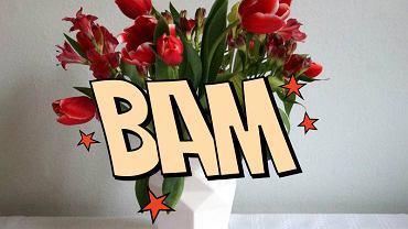 Piękne kwiaty, piękny wazon a całość prezentuje się... nijako? Jest na to prosty sposób!