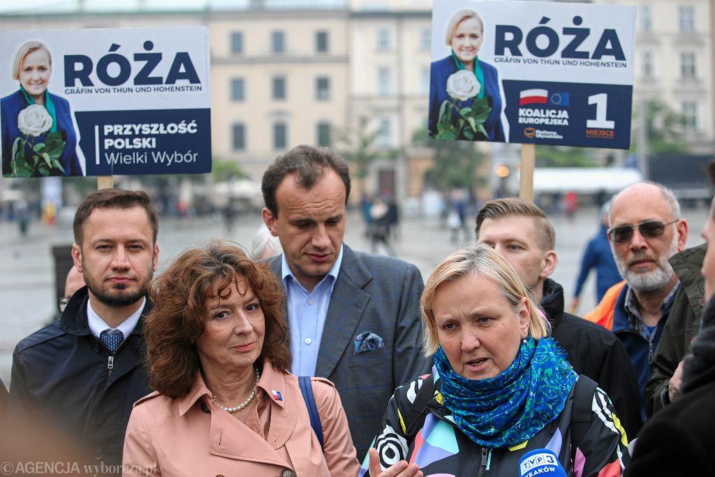 Wyniki wyborów do Europarlamentu. W Krakowie najwięcej głosów zdobyła Róża Thun