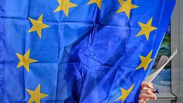 Głosowanie w wyborach do Parlamentu Europejskiego w Baleni w Rumunii.
