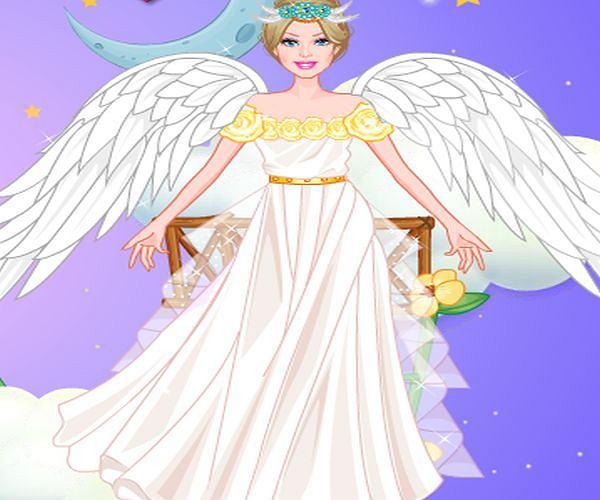 Ubieranka: prawdziwy anioł