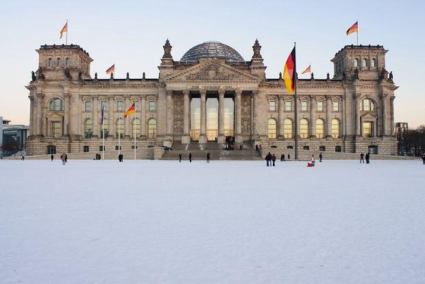 Zimowy Berlin, Reichstag / fot. Shutterstock
