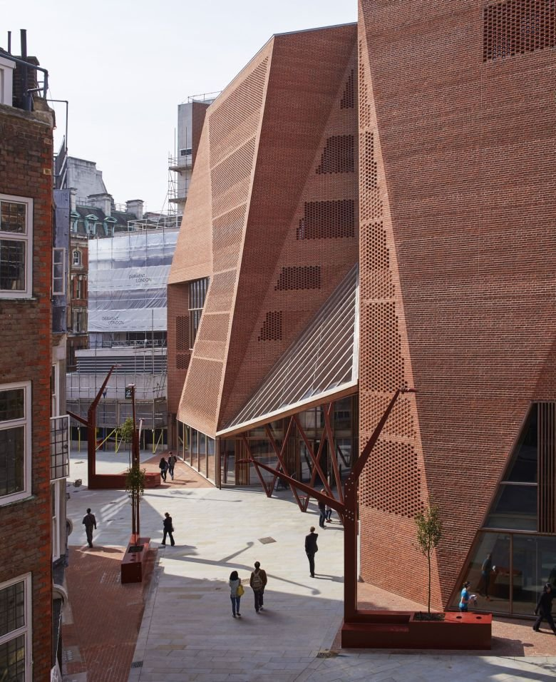 Centrum Studenckie Saw Swee Hock Londyn Wielka Brytania / Materoiały prasowe/Dennis Gilbert