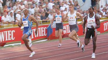 Żywiec Cup - miting lekkoatletyczny na stadionie Olimpii na Golęcinie w 2003 roku