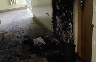Seria podpaleń w blokach mieszkalnych na Ursynowie