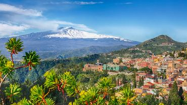 wulkan Etna, Sycylia, Włochy