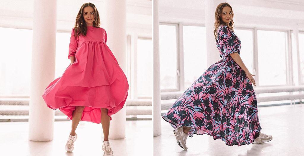 Anna Wendzikowska w sukienkach Loriini