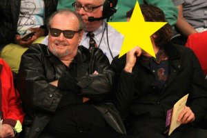 Jack Nicholson z synem Raymondem