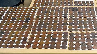 Przemyt 680 rosyjskich, osiemnastowiecznych monet na przejściu granicznym w Połowcach