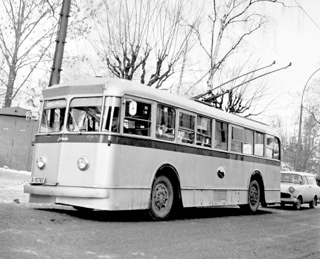 Trolejbus Strommen Vickers Type E40 w Oslo