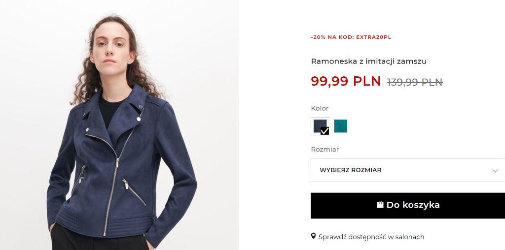 Ta kurtka to idealny model na wiosnę