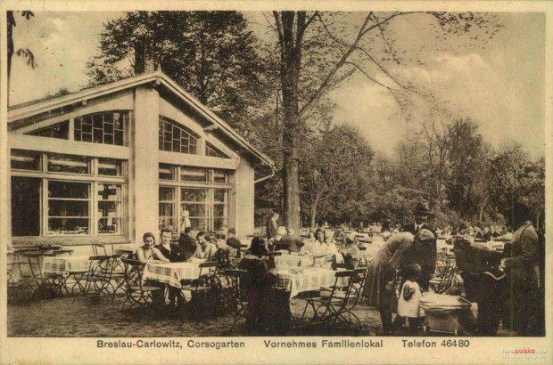 Zdjęcie numer 35 w galerii - Ogródki restauracyjne pierwsze tej wiosny i te przedwojenne [ARCHIWALNE ZDJĘCIA]