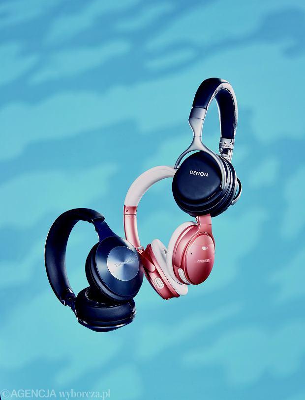 Test słuchawek redukujących szum