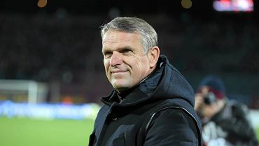 Trener Pogoni Szczecin Kazimierz Moskal