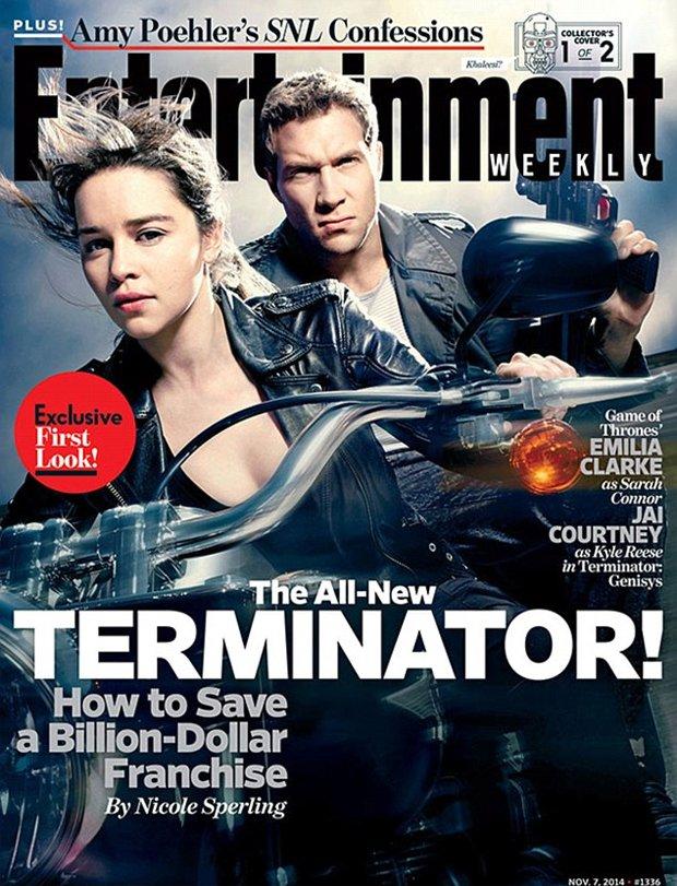 Emilia Clarke i Jai Courtney