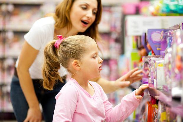 Ustal z dzieckiem po co idziecie na zakupy.