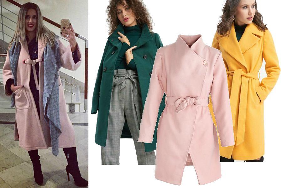 Klasyczne płaszcze kolorowe