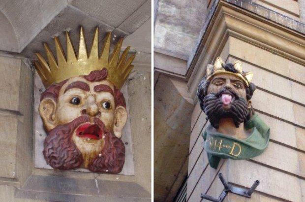 Król pokazuje język/ Fot. GFDL/ Rynacher/ Wikimedia Commons