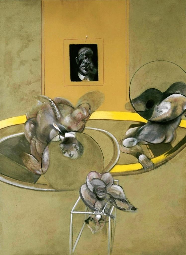 Three Figures and Portrait, Francis Bacon  / Tate Britain