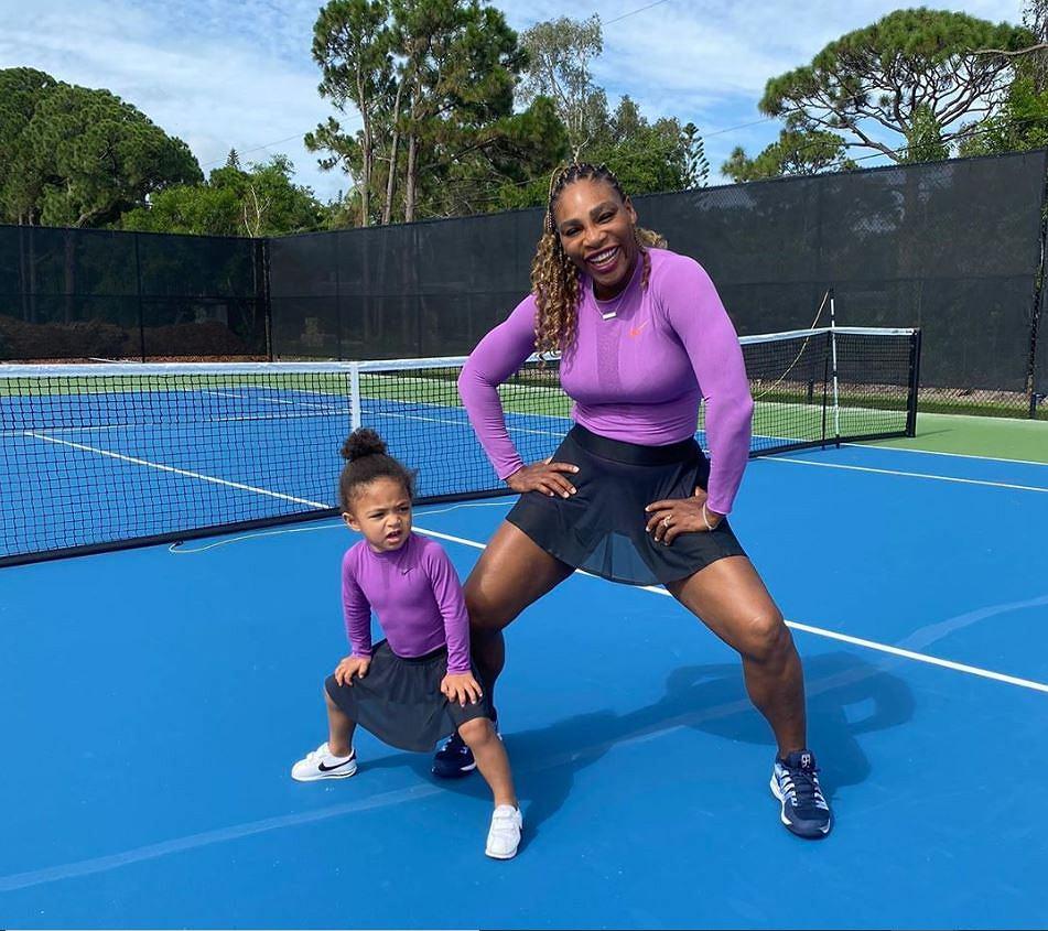 Serena Williams z córką Alexis Olympią Ohanian