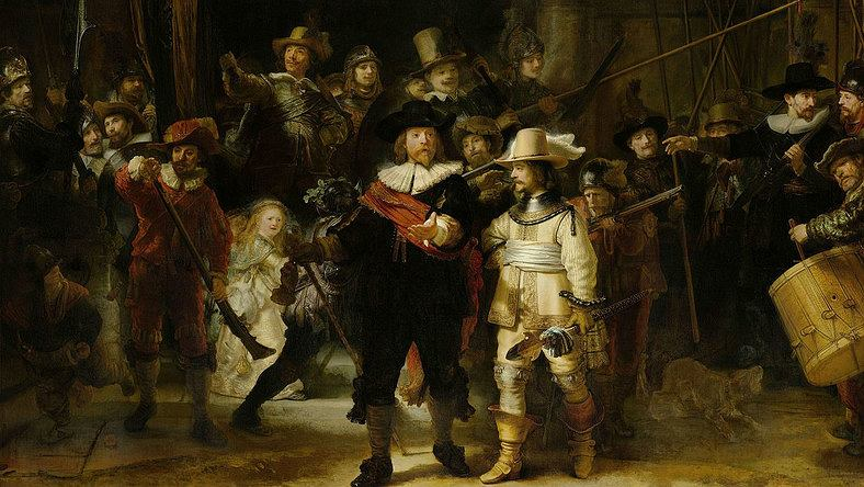 'Straż nocna / Wymarsz strzelców / Kompania Fransa Banninga Cocqa i Willema van Ruytenburgha'