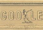 Pierwsze nowożytne Igrzyska Olimpijskie - Google Doodle. Pierwsze nowożytne Igrzyska Olimpijskie uczczone przez Google