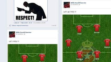 Screen z Facebooku Gueriera