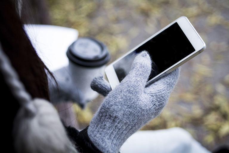 Mrozy nie służą smartfonom