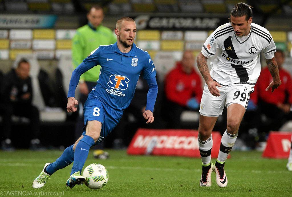 Legia Warszawa - Lech Poznań 1:0. Szymon Pawłowski i Aleksandar Prijović