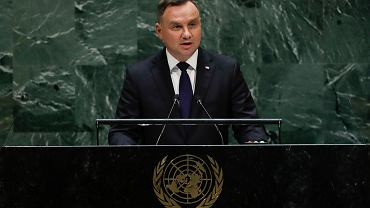 Andrzej Duda przed Zgromadzeniem Ogólnym ONZ
