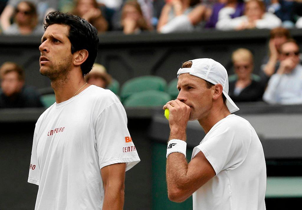 Wimbledon 2017. Marcelo Melo i Łukasz Kubot