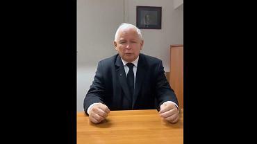 Jarosław Kaczyński w filmiku zamieszczonym na Twitterze w ramach akcji 'StopFurChallenge