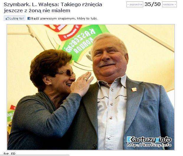 Lech i Danuta Wałęsa uczestniczyli w biciu rekordu Guinnessa w długości deski. Dziesięć lat temu mieszkańcy Szymbarku mieli już najdłuższą deskę świata, ale trzy lata temu nowy rekord padł w Wilkowie a rok temu w Niemczech.