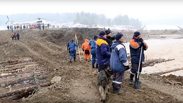 Katastrofa w Rosji. W Kraju Krasnojarskim zawaliła się tama przy kopani złota