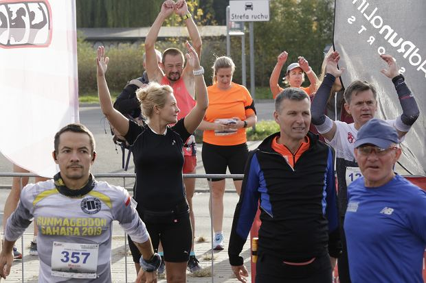 Zdjęcie numer 29 w galerii - Ponad 1200 biegaczy na starcie 37. Toruń Maraton, wygrał Łukasz Oskierko [ZDJĘCIA]