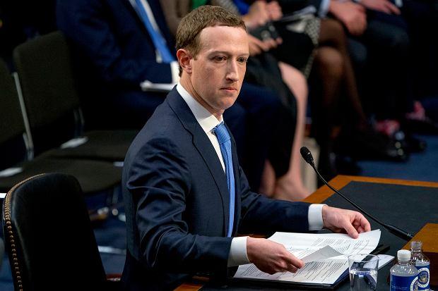 Mark Zuckerberg szef Facebooka