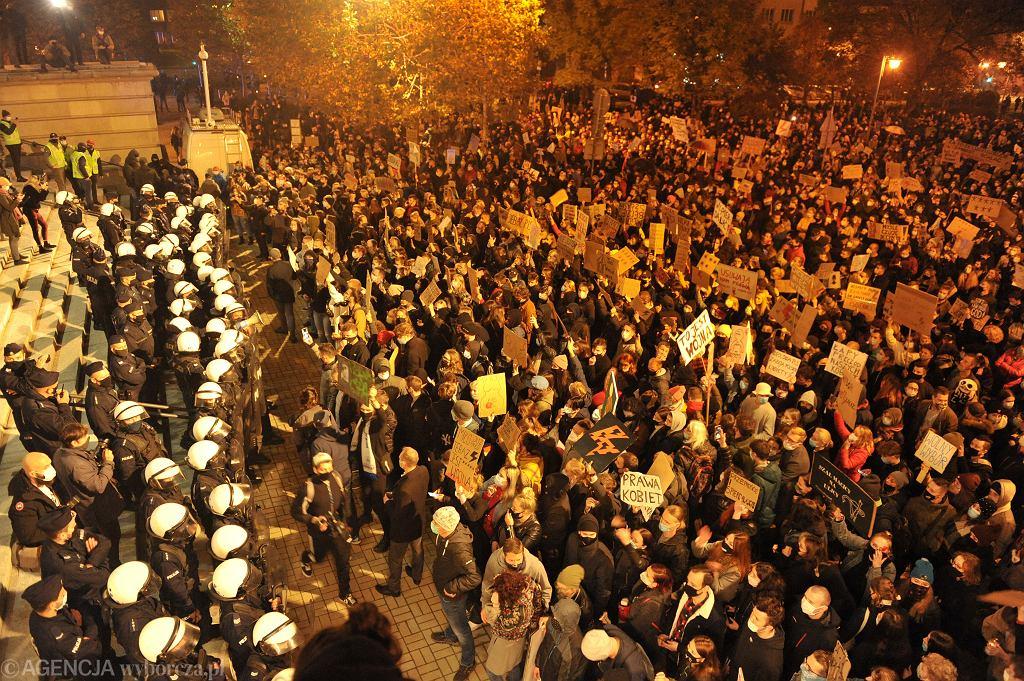Manifestacja w Katowicach