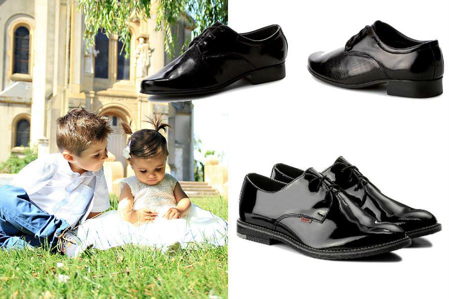 Buty na I Komunię Świętą dla chłopca