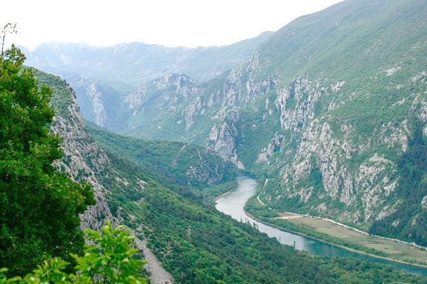 Ujścia rzeki Cetiny do Adriatyku