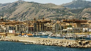 Port w Palermo, Sycylia
