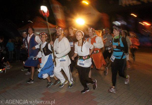 21.06.2015 Gdynia , nocny Bieg Swietojanski Fot. Rafal Malko/Agencja Gazeta